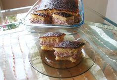 Bögrés gesztenyekrémes-meggyes süti Poppy Cake, French Toast, Muffin, Cooking Recipes, Breakfast, Dios, Morning Coffee, Chef Recipes, Muffins