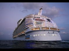 """""""Royal Caribbean"""" """"Oasis of the Seas"""" """"Tour"""" """"Largest Cruise Ship on the...   Mãeeeeee olha que super nosso navio"""