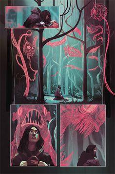 illustration art Weirdworld -- Art by Mike Del Mundo Art Inspo, Kunst Inspo, Inspiration Art, Arte Dc Comics, Bd Comics, Fantasy Kunst, Fantasy Art, Fantasy Comics, Art And Illustration