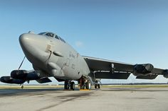 The youngest Boeing B-52 achieves 50 years of service. Photo is of B-52H 61-040 today. US Air Force