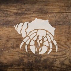 Our Hermit Crab Nautical stencil is great addition to our fun and growing nautical stencil design collection. You can easily create whimsical wall art out of reclaimed wood with this cute beach decor stencil. http://www.cuttingedgestencils.com/hermit-crab-wall-stencil-nautical-decor.html