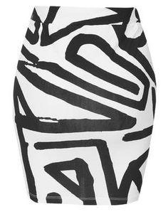 Eye Print Skirt