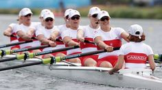 Canada Silver - Women's Eight Rowing