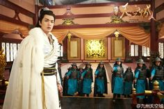 Zhang Ruo Yun, Castle In The Sky, Drama Movies, Chinese, Sari, Princess, Dramas, Dresses, Fantasy