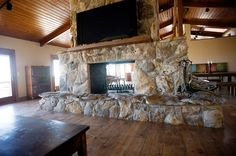 double sided fireplace | Double sided fireplace | For the Home