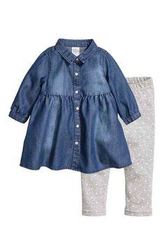 Vestido e leggings | H&M