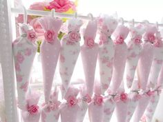 paraguitas chocolate decorados soporte candy bar shabby chic