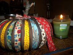 So, I was so inspired by one of the Hometalkers. I know that many people have done these kinds of pumpkins, but I really wanted to make one and add something ex…