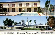 Colonial House - Oxnard, CA - Hotel