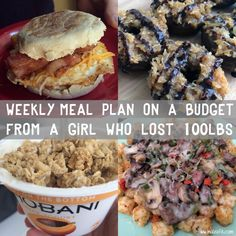 Meal Plan #9: Macro Friendly Meal Ideas (Created for a Realistic, Well Balanced Diet)