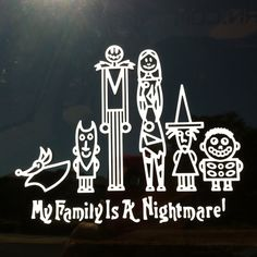 Car decal. Awesome.