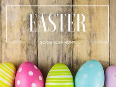 Easter Scavenger Hunt - STUMINGAMES