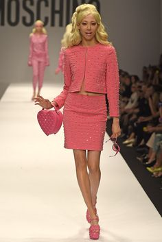 Moschino RTW Spring 2015 - Slideshow - Runway, Fashion Week, Fashion Shows, Reviews and Fashion Images - WWD.com