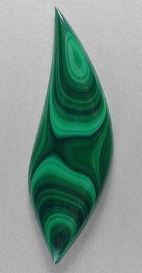 MALACHITE designer cab! Silverhawk's designer gemstones. #crystalline