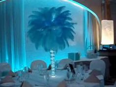 Tiffany Themed Sweet 16 Candelabras, Centerpieces & Sign in Posters at Jericho Terrance, Mineoa NY Tiffany Sweet 16, Tiffany And Co, Tiffany Blue, Sweet 16 Decorations, Balloon Decorations, Old Hollywood Theme, Centerpiece Rentals, Ostrich Feather Centerpieces, Grad Parties