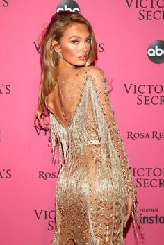 98eb264e6ef Romee Strijd - 2018 Victoria s Secret Fashion Show After Party in NY Pink  Carpet