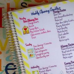 Cleaning Schedule Dashboard/Insert for your Erin Condren Life Planner (use your Fly Lady schedule) by RosieRyeAccessories on Etsy https://www.etsy.com/listing/214180523/cleaning-schedule-dashboardinsert-for