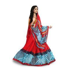 Buy Go Desi Womens Gerogette Printed Saree by Go Desi, on Paytm, Price: Rs.799?utm_medium=pintrest
