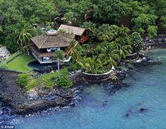 Steve Tyler's home on Maui, Hawaii