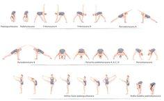 Oto seria pozycji, które poznasz jeśli dołączysz do kursu jogi w domu 30 Dni z Jogą