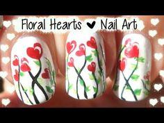 Nail Art Tutorial, Nail Designs, Nail Art How To, Valentine's Day | NAILPRO