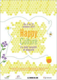 """Fureur de lire 2017 : """"Happy culture"""" : le miel raconté et dégusté avec les bibliothèques du Brabant wallon"""
