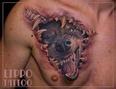 girl wolf animal tattoo tattoo for men wolf tattoos wolf tattoo art Wolf Tattoos, Wolf Hand Tattoo, Weird Tattoos, Badass Tattoos, Back Tattoos, Animal Tattoos, Sexy Tattoos, Body Art Tattoos, Sleeve Tattoos