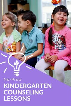 Kindergarten classroom guidance lessons on goal setting, growth mindset, coping, worry, friendship, playing safely, blurting, and more! Elementary school counseling Elementary School Counselor, School Counseling, Elementary Schools, Character Education, Career Education, Life Skills Lessons, School Social Work, Guidance Lessons, Student Engagement