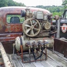 Interesting ratrod onboard air management system.
