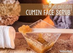 Antioxidant Cumin Face Scrub for Glowing Skin Get your skin glowing with this exfoliating (and slightly exotic!) natural body or face scrub. Cumin delivers antioxidants while honey and natural oils. Exfoliating Face Scrub, Exfoliate Face, Skin Care Regimen, Skin Care Tips, Shoulder Acne, Brown Sugar Scrub, Wellness Mama, Face Scrub Homemade, Beauty Recipe