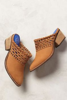 Jeffrey Campbell Cucamonga Mules #Anthropologie