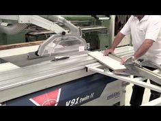 Panhans V 91 twin II double tilting sliding table panel saw - YouTube Panel Saw, Sliding Table, Sliding Panels, Woodworking Machinery, Science And Technology, Blade, Twins, Youtube, Gemini