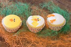 Cup cakes για Easter Party