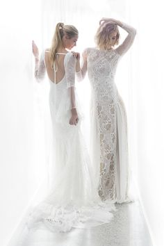 Delicate and ethereal, the Backlit editorial from Grace Loves Lace.