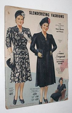 It displays the latest in women's fashions, plus home decor. It was probably printed pre-Pearl Harbor and before the WW2 rationing began. This catalogue is in good shape for a paper item over 70 years old. | eBay!