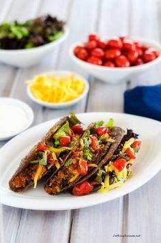Bean & Quinoa Tacos - Cooking Quinoa