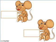 Παρουσιολόγιο για το νηπιαγωγείο με θέμα τα ποντικάκια