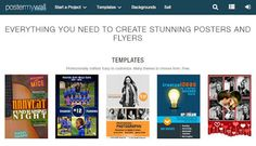 Best Online Poster Maker To Design Your Own Stunning Poster | Web Knowledge Free | Web of Knowledge http://www.webknowledgefree.com/2015/10/best-online-poster-maker-to-design-your-own-stunning-poster.html