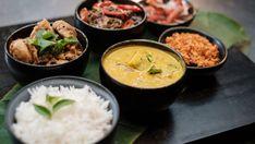 Dinner at Amma's Fresh Coriander, Fresh Garlic, Masterchef Recipes, Black Mustard Seeds, Lime Salt, Unrefined Coconut Oil, Fennel Seeds, Curry Leaves, Indian Food Recipes