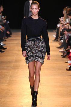 Karlie Kloss au défilé Isabel Marant automne-hiver 2015-2016