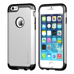 Image of LUVVITT ULTRA ARMOR iPhone 6 / 6S Case | Dual Layer Back Cover - Silver