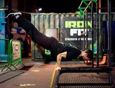 Jamie Dornan great work out. 2015