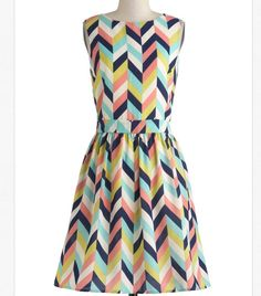 #modcloth Colorful and vibrant