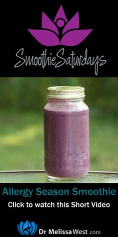Smoothie for Allergy Season Smoothie for your Allergies