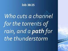 job 38 25 and a path for the thunderstorm powerpoint church sermon Slide03  http://www.slideteam.net/
