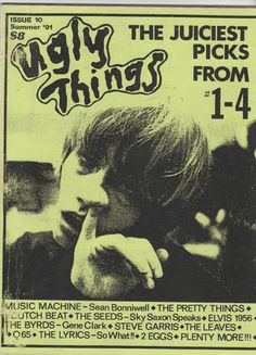 Ugly Things 10 Garage Punk RnB Psych Zine Pretty Things Seeds Music Machine | eBay