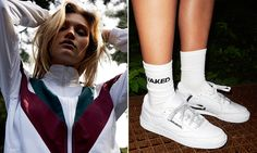 In collaboration with Naked, Reebok has drawn inspiration from '90s athletic wear to produce a modern approach. The collection consists of a range of apparel such as a fitted dress, tracksuit, mesh shorts, and crewneck. Rounding out the collection will be a sleek Club C 85 dressed in a premium white perforated leather upper. The …