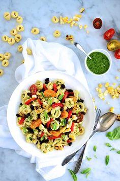 Grilled Corn Pesto Salad image