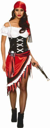 Sexy Pirate Wench Halloween Costume - Pirate Vixen. #Halloween #Mask #Costume #Women #Girl #Lady #Party #gosstudio #Gift .★ We recommend Gift Shop: http://www.zazzle.com/vintagestylestudio ★