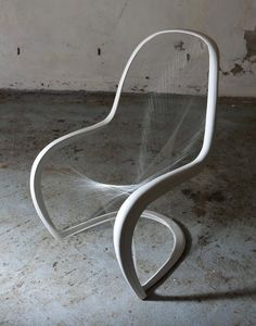 Winner of the British Panton Chair Competition by Jump Studios. -- 50 years ago, Verner Panton designed the first single mold plastic chair with a curvaceous profile called the Panton chair. Vitra UK held a design competition among its clients to customize a Panton chair.